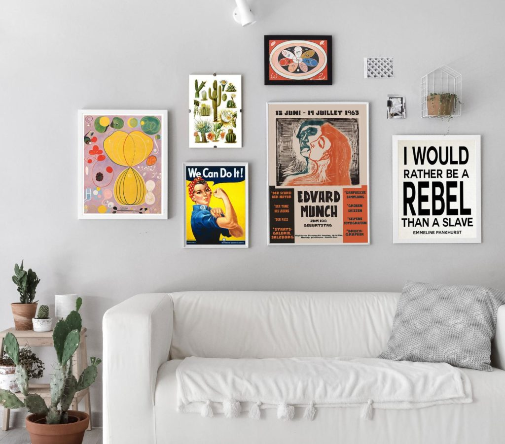 Display of prints